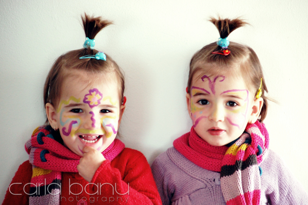 face painting copii