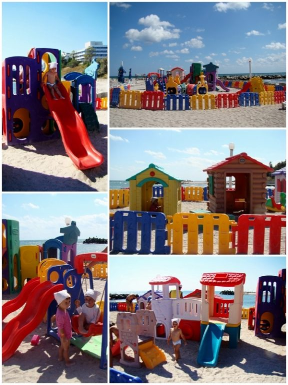 loc joaca plaja copiilor jupiter