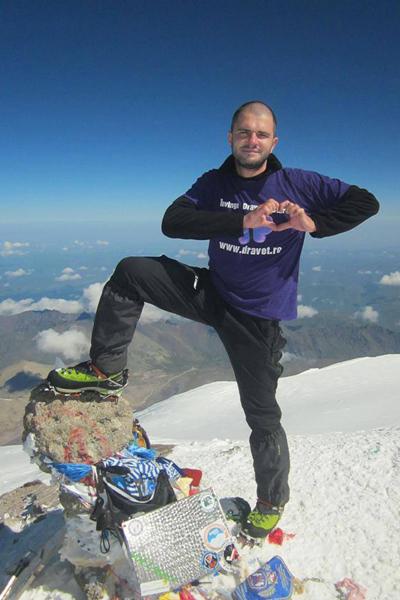 Mihai Bobcea Vf. Elbrus Dravet