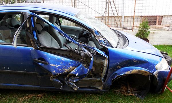 Citroen C3 avariat accident
