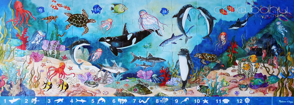Floor Puzzle Sea World