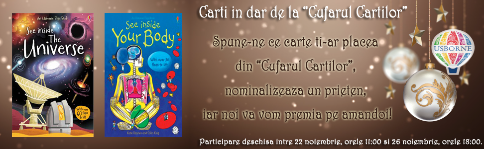 Concurs Usborne Cufarul Cartilor