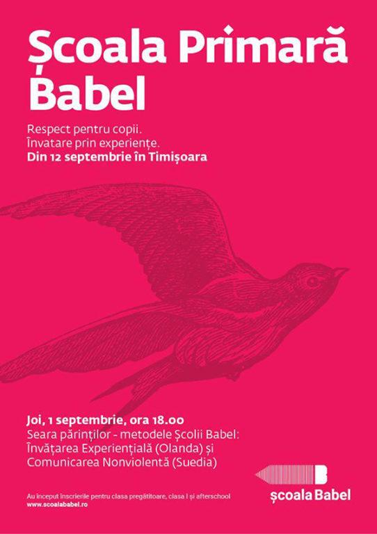 Școala Babel întâlnire părinți