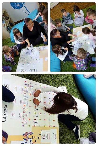 Calendarul copiilor