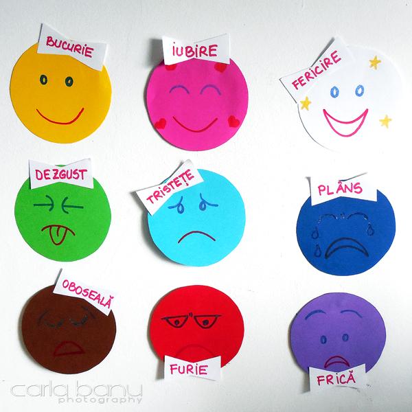 Culorile emoțiilor noastre